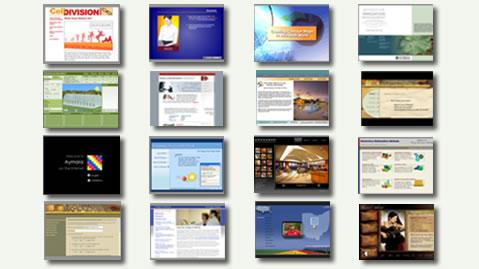 Portfolio Screens